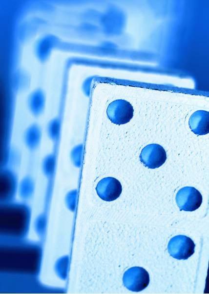 blue-domino-effect