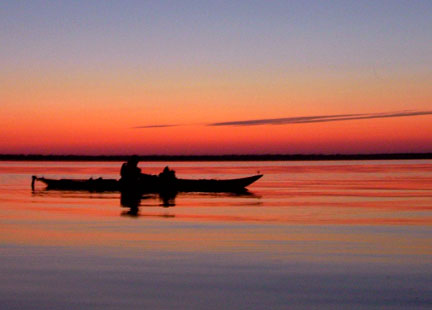 kayaking-at-first-landing-state-park-by-karen-roberts