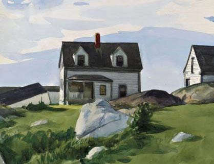 edward-hopper-houses-of-squam-light detail