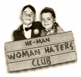 he man woman haters club b&w