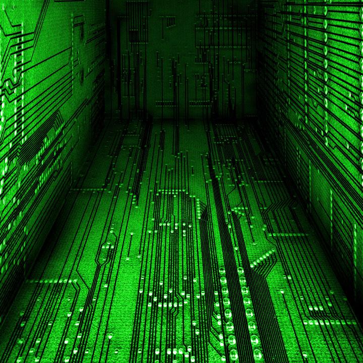 Cyberspace green