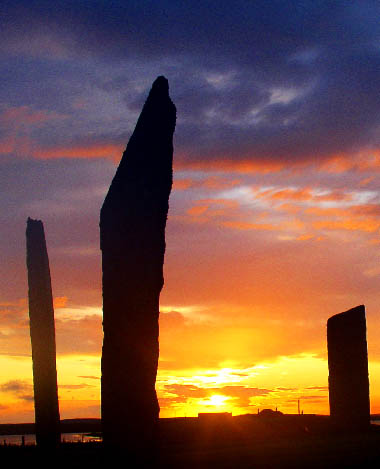 Standing Stones of Stenness England