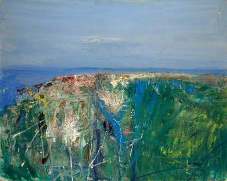 """""""Summer Grasses and Barley on the Clifftop"""" (1962, oil on board)"""
