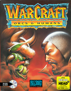 Warcraft: Orcs & Humans Cover Art (Fair Use, WikiMedia)