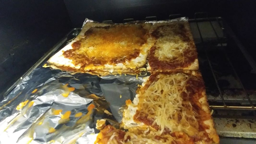 vegan toaster oven pizza