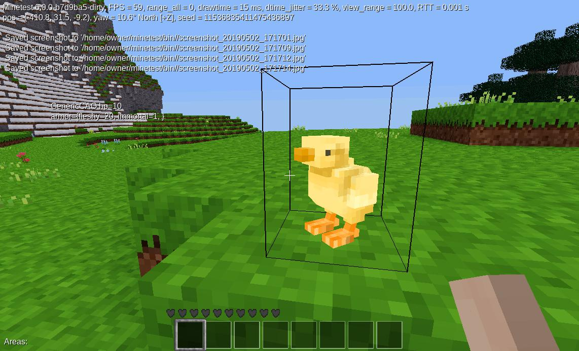 Minetest Baby Chick