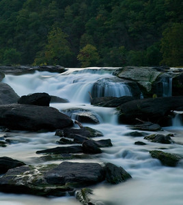 Sandstone Falls with the 70-200mm