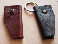 Porte clés en cuir patron libre et gratuit à télécharger