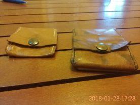 Porte monnaie carré à soufflet - patron gratuit et libre maroquinerie et travail du cuir - point selier