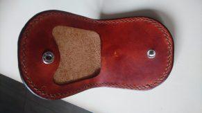 Patron porte monnaie classique en cuir - maroquinerie et travail du cuir - patron gratuit et libre