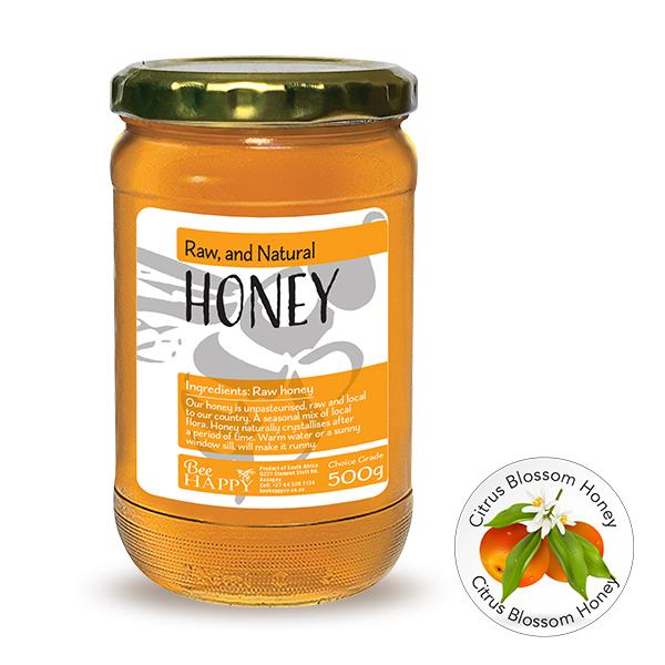 Bee Happy Honey CT 500g