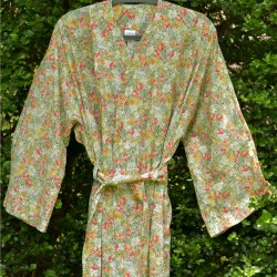 Gown - Green Floral