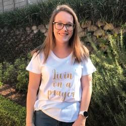 T-shirt - Livin on a Prayer