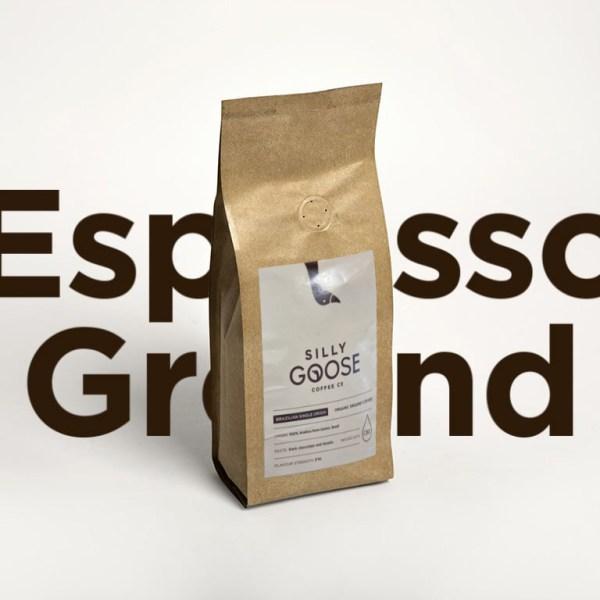 Silly Goose Brazilian Single Origin, ground coffee