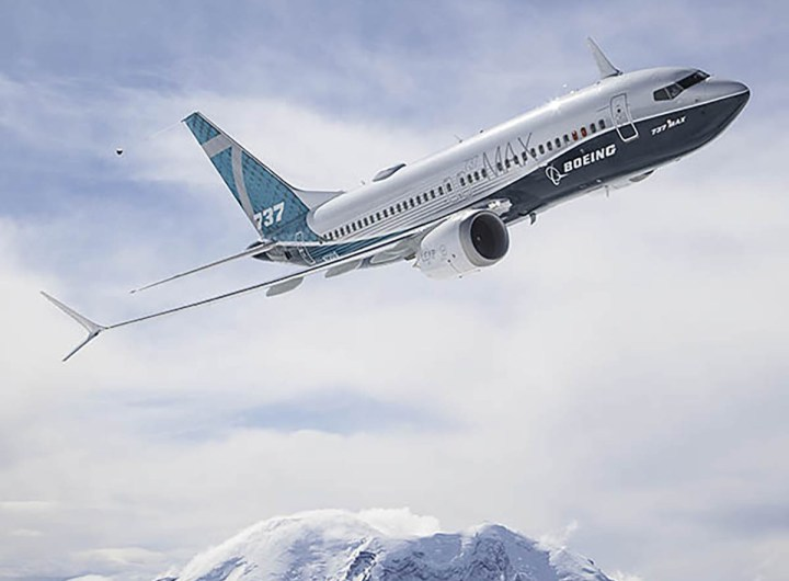 Boeing 737 MAX 7 First Flight Air To Air
