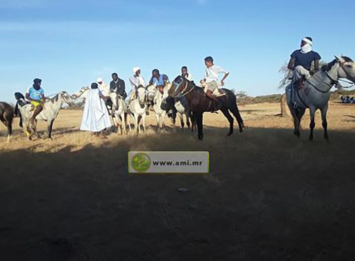 course-de-chevaux-organisee-par-la-commune-d-aioun