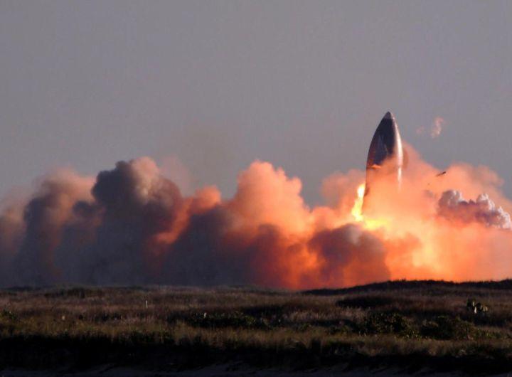 SpaceX une nouvelle fusée explose