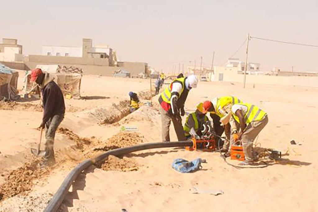 Réseau hydraulique pour Nouakchott