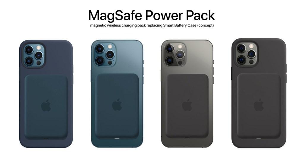 Iphone 12 une batterie externe fonctionnant avec de l'aimant