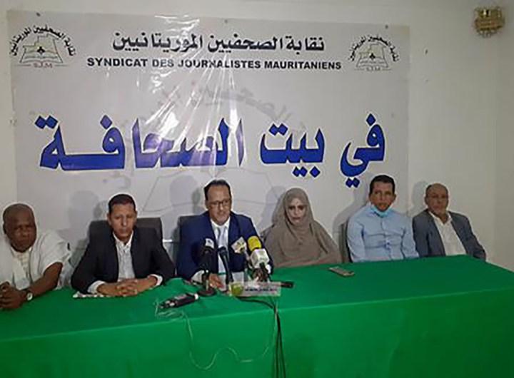 M Mohamed Salem Ould Dah président de l'Union des journalistes Maghrébins