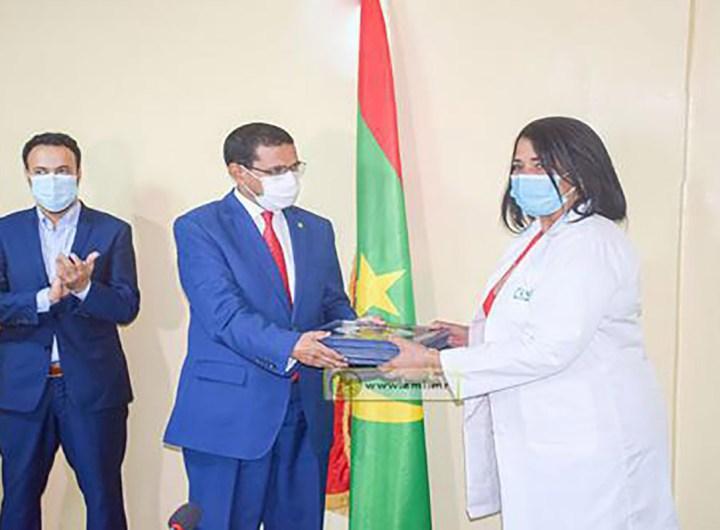 Cérémonie pour l'équipe médicale Cubaine en Mauritanie