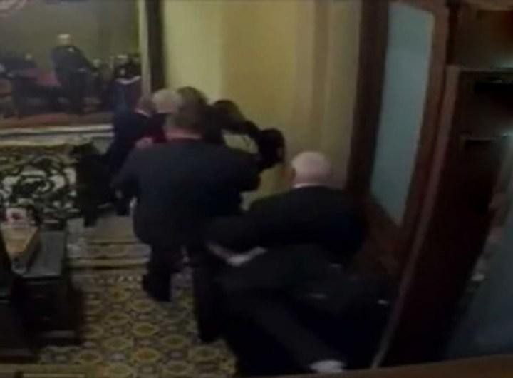vidéos attaque du capitole