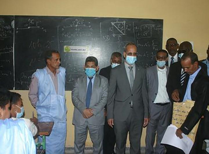 5ème olympiades nationales rallye des sciences Mauritanie