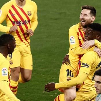 Barça gagne Osasuna 4 jours avant Paris