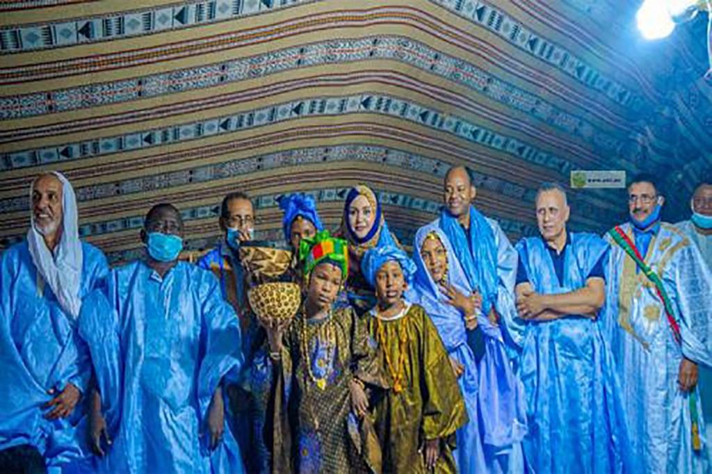 Dakhlet-Nouadhibou caravane de la femme avec la ministre des affaires sociales