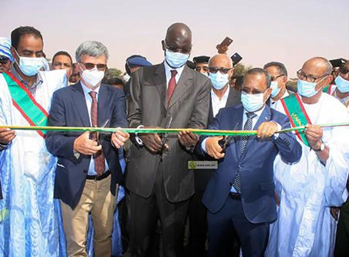 Inauguration de la route Nouakchott-Bombri