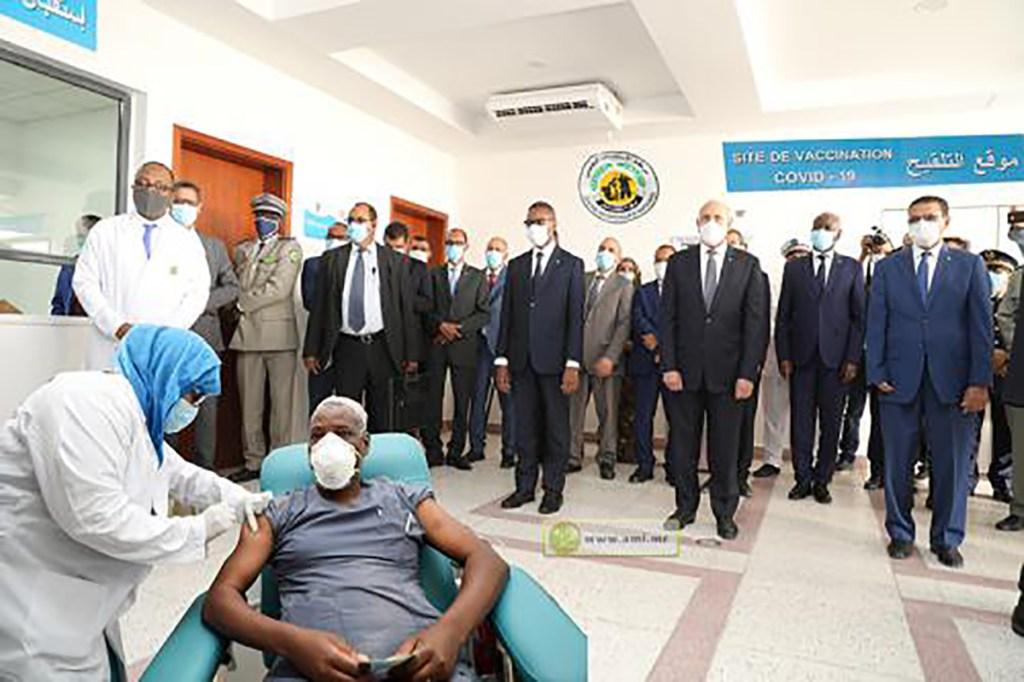 Lancement de la vaccination anti-covid-19 à Nouakchott