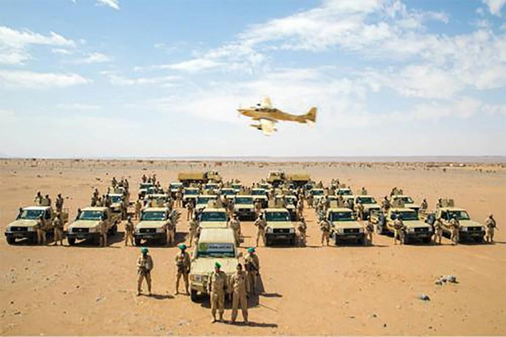 Monoeuvres de l'armée Mauritanienne du nom de Zemmour 2