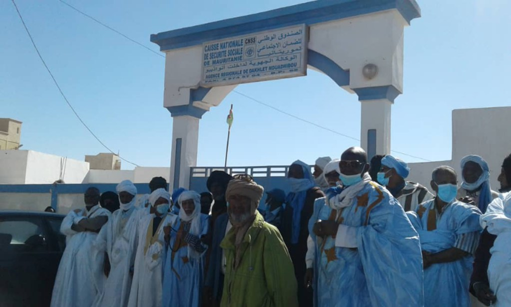 Nouadhibou: manifestation des retraités du secteur privé