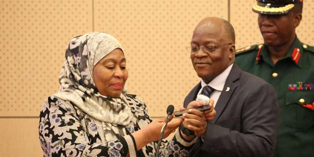 Samia Suluhu Hassan, première femme à la tête de la Tanzanie