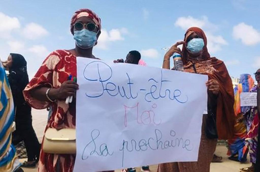 caravane de la femme Nouamghar Mauritanie