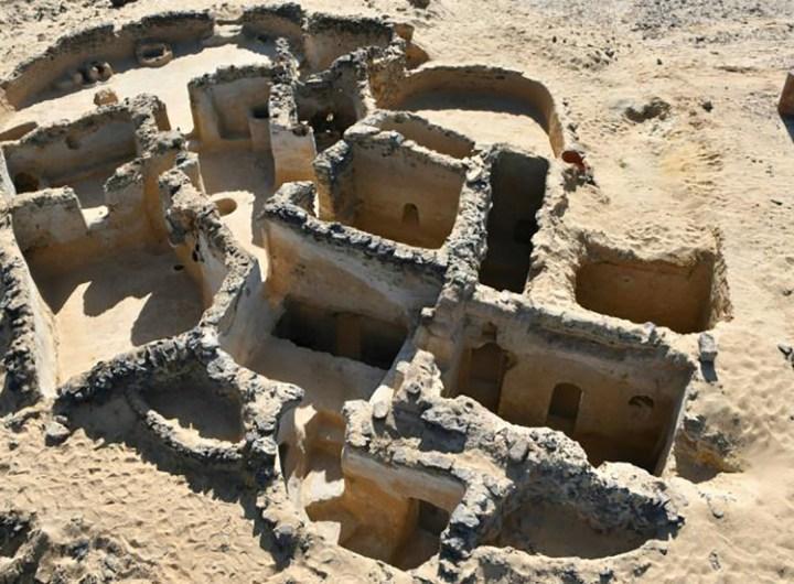 Egypte découverte de nouveaux vestiges chrétiens du Ve siècle