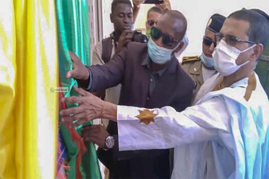 Adrar : inauguration d'un hôpital à Ouadane