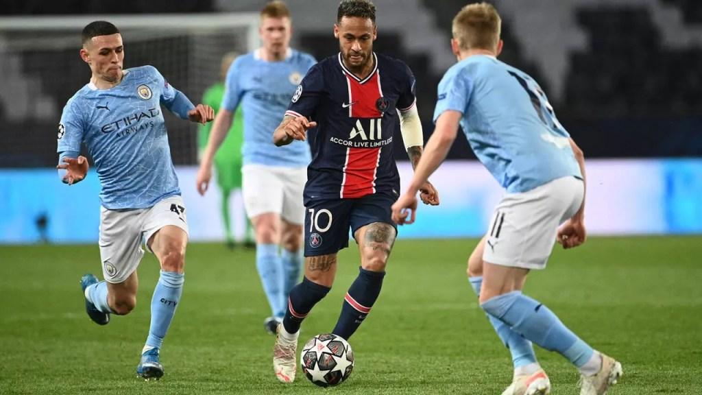 C1: le PSG 2-1 s'écroule devant Manchester City