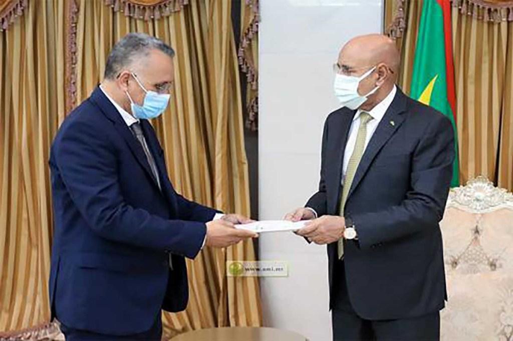 Le rapport annuel de la Commission Nationale des Droits de l'Homme (CNDH) remis au président Ghazouani