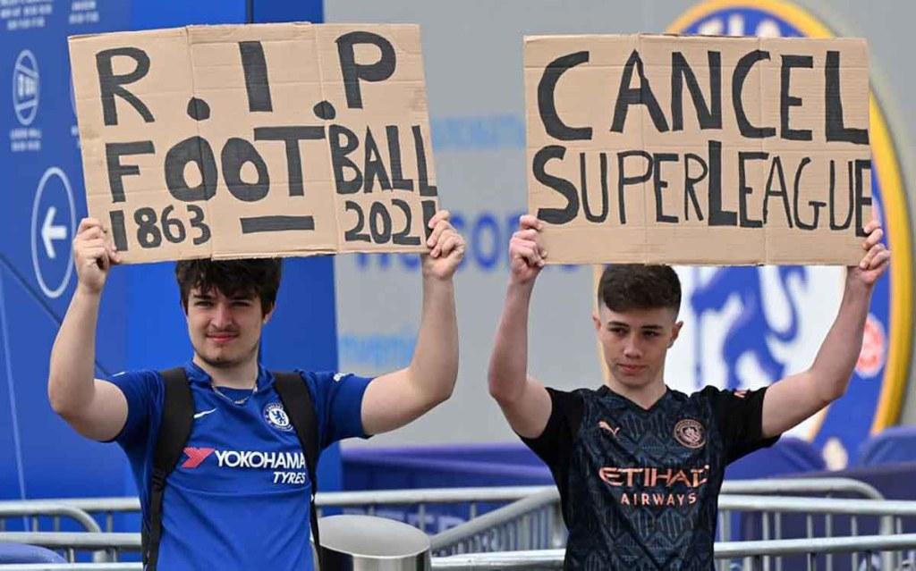 Manchester City se retire du projet de Super League