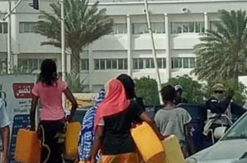 Pénurie d'eau dans certains quartiers de Nouakchott