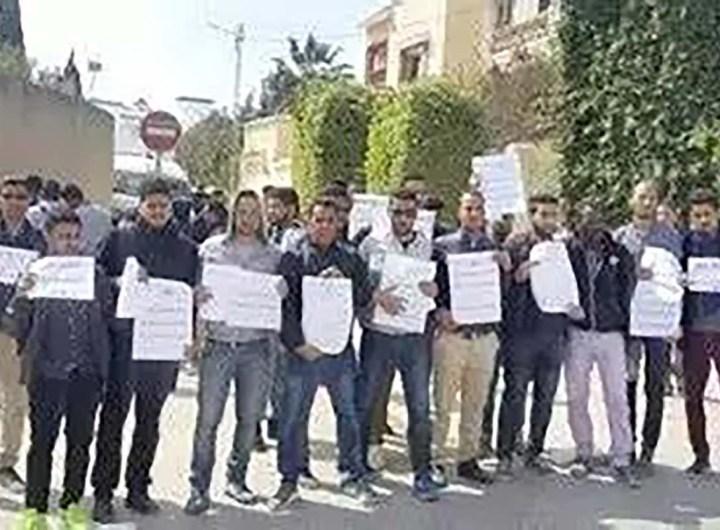 Sit-in des étudiants mauritaniens en Tunisie pour réclamer leurs bourses