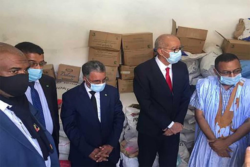Nouadhibou: plus de 5000 familles bénéficient de paniers alimentaire