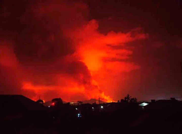 RDC: après l'éruption du volcan Nyiragongo, les habitants de Goma doivent évacuer
