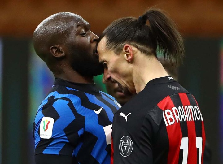 l'Inter champion d'Italie: Romelu Lukaku nargue Zlatan Ibrahimovic