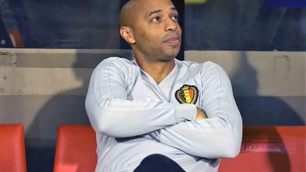 Thierry Henry redevient adjoint du sélectionneur de la Belgique