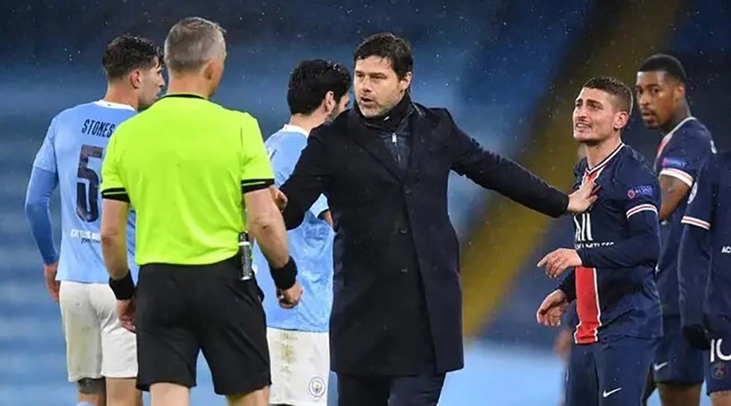 Deux joueurs parisiens affirment avoir été insultés par l'arbitre lors de la demi-finale retour contre Citys