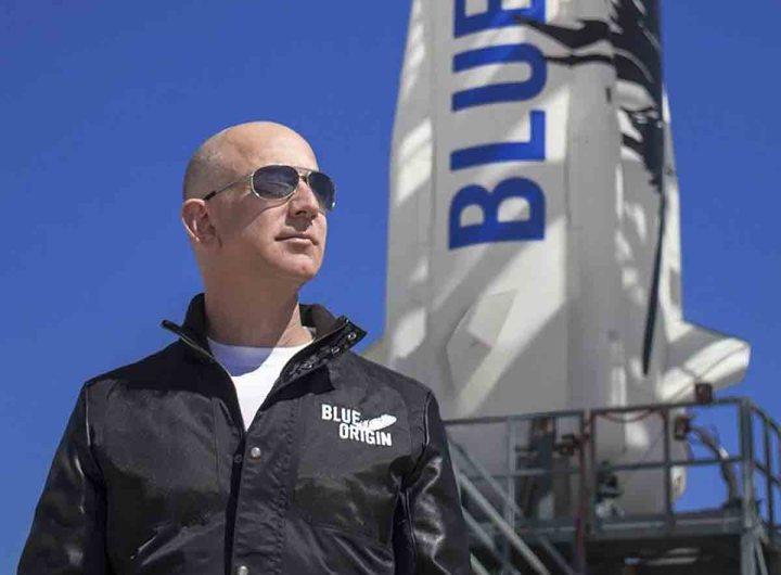 Jeff Bezos participera au 1er voyage de tourisme spatial le 20 juillet