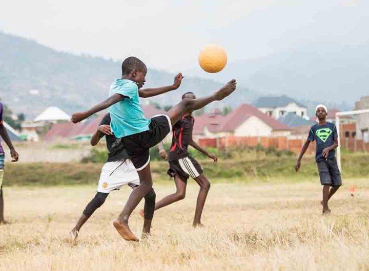 Lancement d'un projet d'intégration sociale par le sport