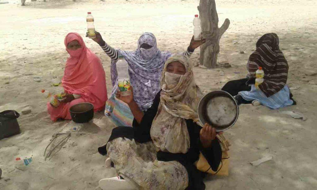Nouadhibou: les femmes manifestent contre la hausse des prix